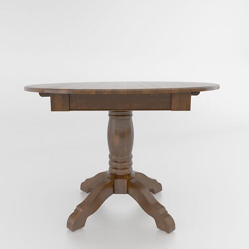 Canadel - Drop leaf table with pedestal