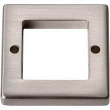 See Details - Tableau Square Base 1 7/16 Inch - Brushed Nickel
