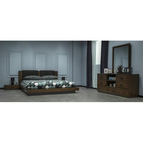 Nova Domus Fantasia - Contemporary Walnut Dresser