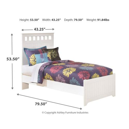 Lulu Twin Panel Bed