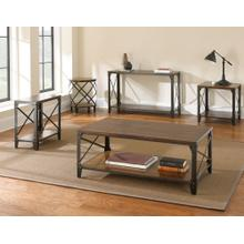 Winston 3-Piece Set(Cocktail & 2 End Tables)