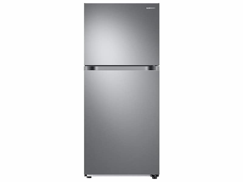 Samsung18 Cu. Ft. Top Freezer Refrigerator With Flexzone™ And Ice Maker In Stainless Steel