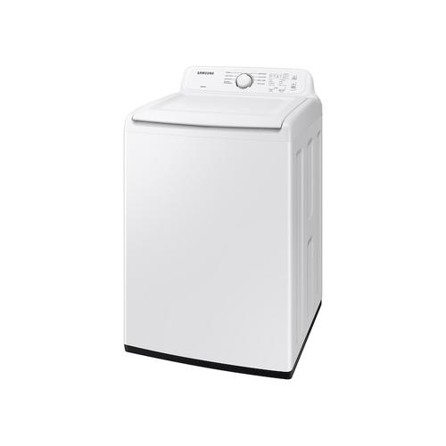 4.0 cu. ft. Top Load Washer with ActiveWave™ Agitator and Soft-Close Lid in White