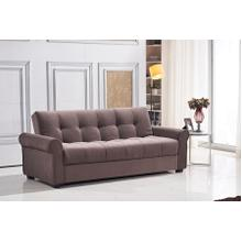 See Details - 7576 Brown Sofa *DISCONTINUED*