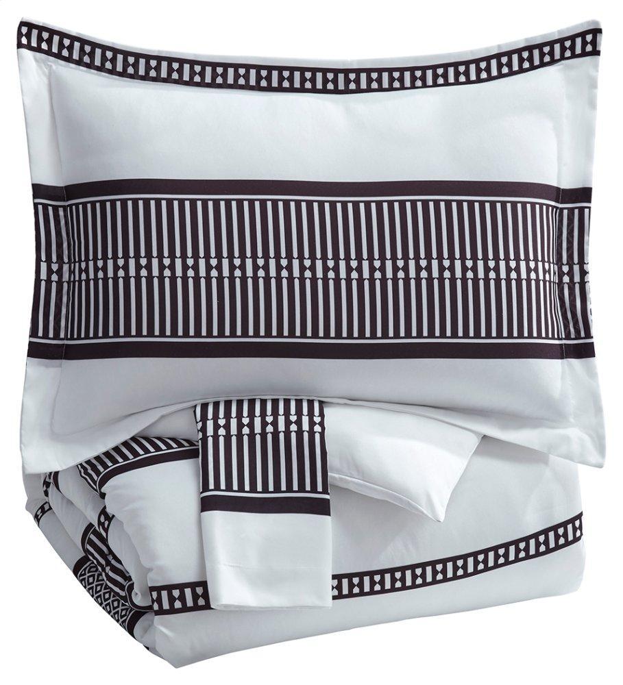 AshleyMasako 3-Piece King Comforter Set