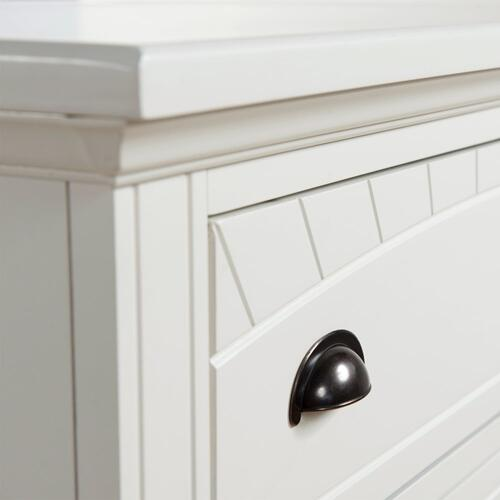 Brookpine White Chest White