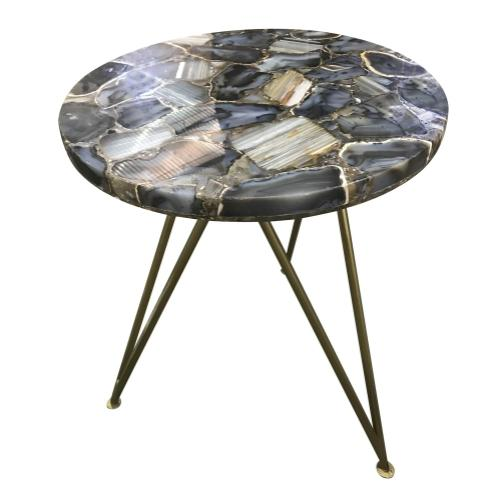 Bengal Manor Blue Agate Table