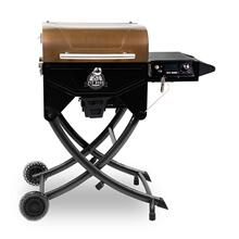 See Details - Portable Copper Top Wood Pellet Grill