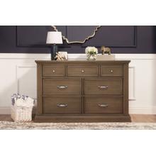 Derby Brown Durham 7-Drawer Assembled Dresser