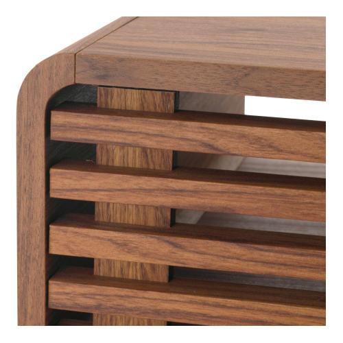 Wilson KD Slat Coffee Table, Walnut (ASSEMBLY REQUIRED)