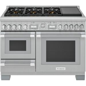 Thermador48-Inch Pro Grand® Commercial Depth Dual Fuel Steam Range