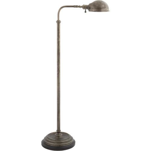 Visual Comfort CHA9161SN E. F. Chapman Apothecary 40 inch 60 watt Sheffield Nickel Task Floor Lamp Portable Light