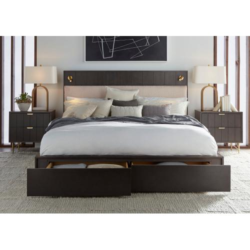 A.R.T. Furniture - California King Faber Platform Storage Bed by A.R.T. Furniture