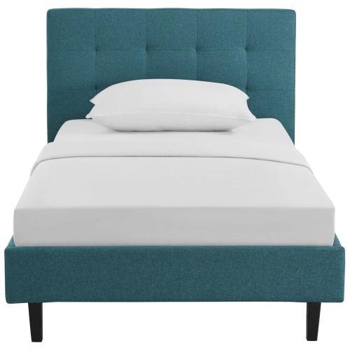 Linnea Twin Bed in Teal