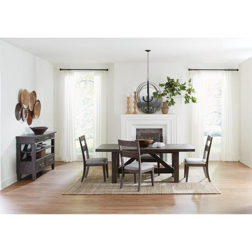 Riverside - Bradford - Rectangular Dining Table - Rustic Coffee Finish