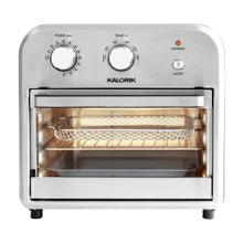 Kalorik 12 Quart Air Fryer Oven, Black/Stainless Steel