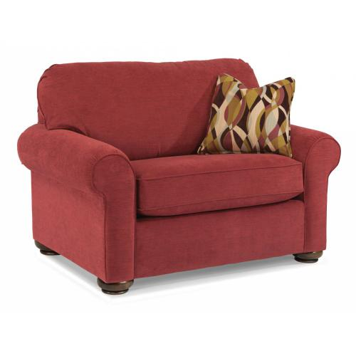Presley Fabric Chair and a Half