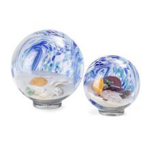 Lewis Art Glass Globes - Set of 2