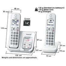 KX-TGD592 Cordless Phones