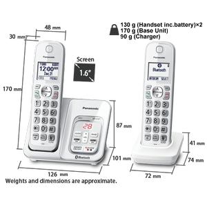 KX-TGD592 Cordless Phones