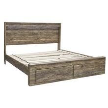 Rusthaven King Storage Footboard