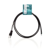 See Details - Smart Choice 6' 15-Amp. 3-Prong Dishwasher Power Cord, Straight