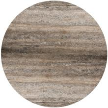 "Silver Travertine 60"" Round Silver Travertine Top, 60"" Round STR-60"