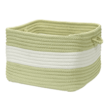 "Rope Walk Basket CB96 Celery 14"" X 10"""