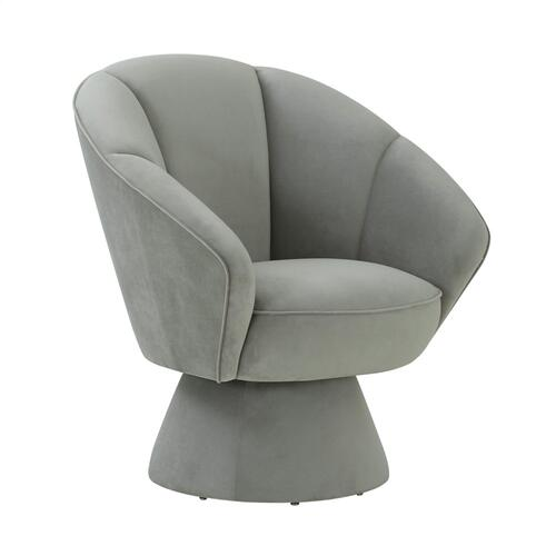 Allora Grey Accent Chair