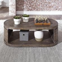 193-OT1010  Oval Cocktail Table