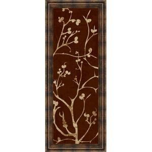 """""""Branching Out I"""" By Diane Stimson Framed Print Wall Art"""