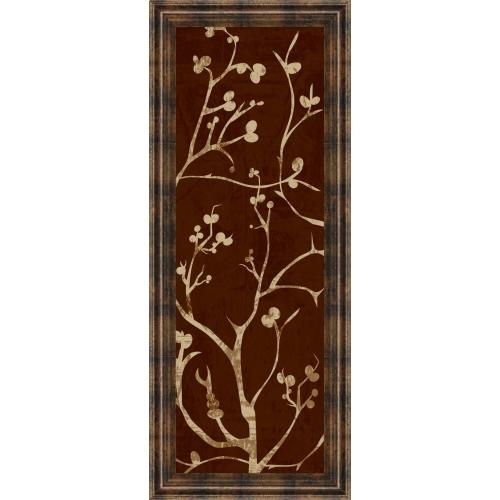 """Classy Art - """"Branching Out I"""" By Diane Stimson Framed Print Wall Art"""