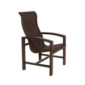 Lakeside Woven High Back Dining Chair
