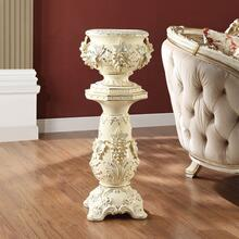 Ceramic Vase & Pedestal
