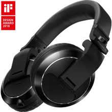 Professional over-ear DJ headphones (black)