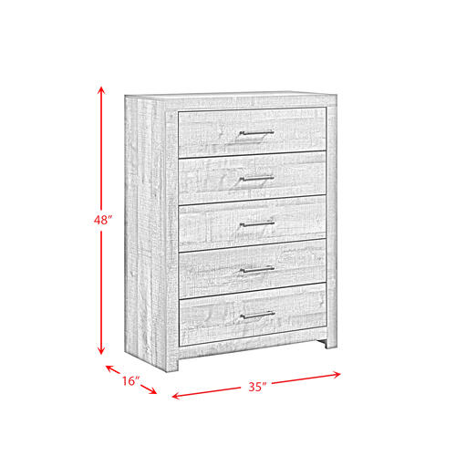 Product Image - Bailey 5-Drawer Chest