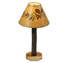 Buffet Lamp - Natural Hickory
