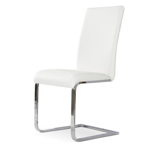 Crane - Modern White Dining Chair (Set of 2)