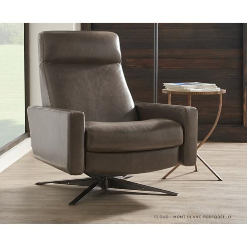 Cloud Sleek Recliner - American Leather