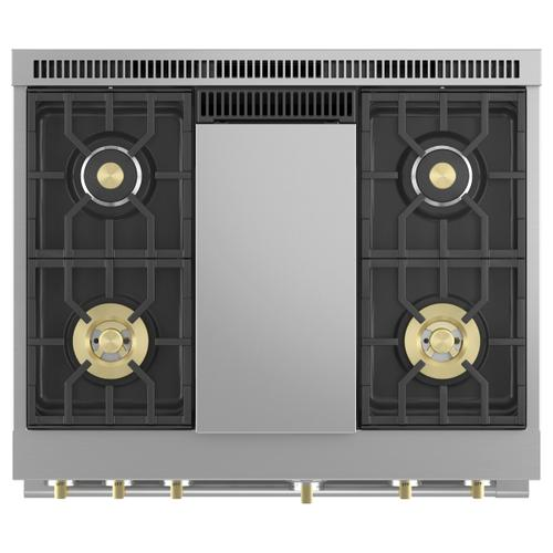 """Monogram 36"""" All Gas Professional Range with 4 Burners an Griddle (Natural Gas)"""