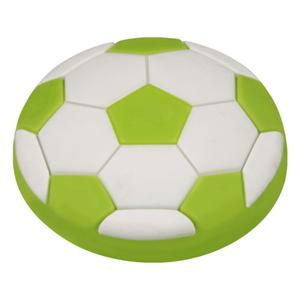 Kids Green Soccer Ball Cabinet Knob Product Image