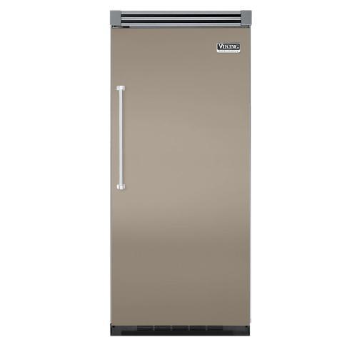 "Viking - Taupe 36"" Quiet Cool™ All Refrigerator - VIRB Tru-Flush™ (Right Hinge Door)"