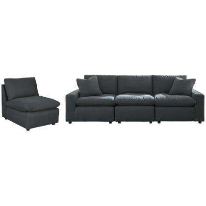 See Details - Savesto 4-piece Sectional