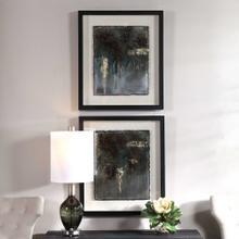 Rustic Patina Framed Prints, S/2