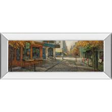 """Quaint City Nostalgia"" By Ruane Manning Mirror Framed Print Wall Art"