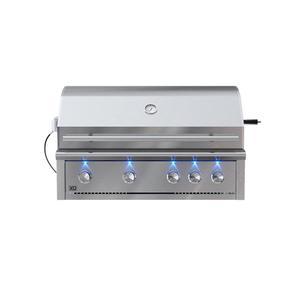 XO Appliance42in Grill 4 Burner w/ Rotiss Burner LP
