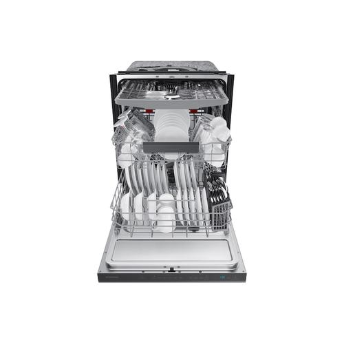 StormWash™ 42 dBA Dishwasher in Black Stainless Steel