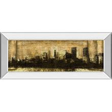 """Defined City I"" By Sd Graphic Studio Mirror Framed Print Wall Art"