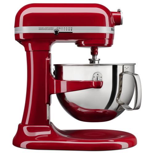 KitchenAid - 6 Quart Bowl-Lift Stand Mixer - Empire Red