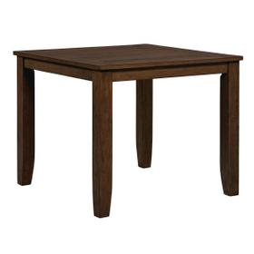 Vintage Counter Height Table, Brown